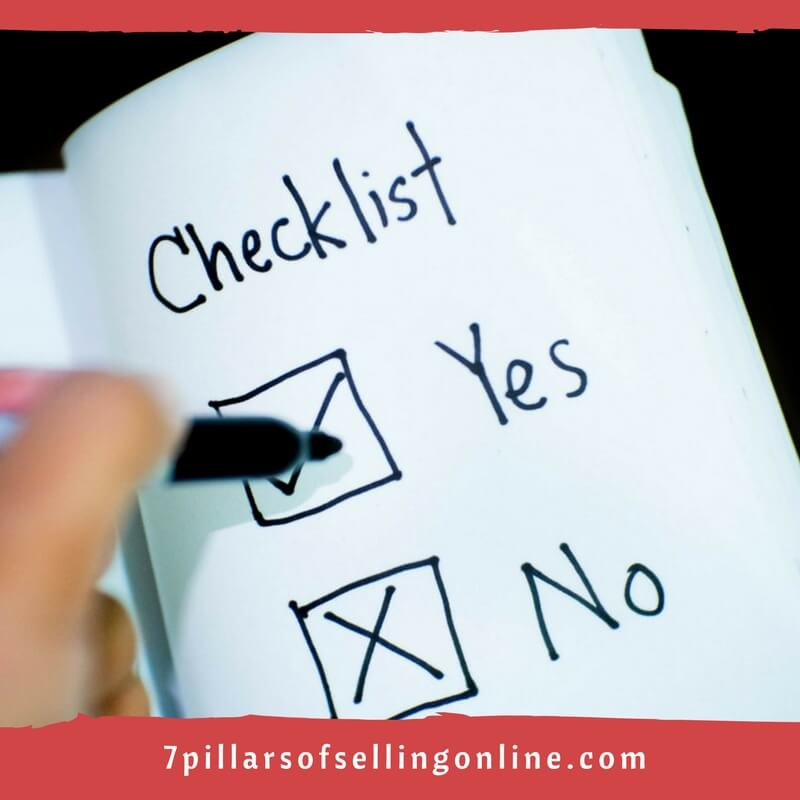 Amazon Feature Checklist Dos and Donts
