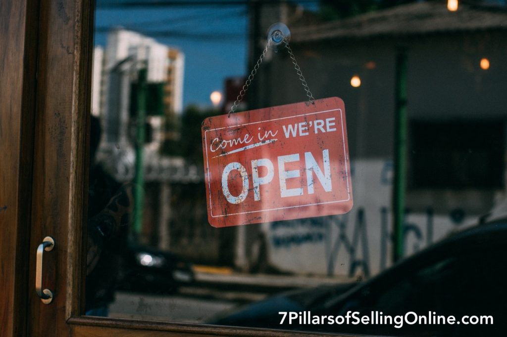 Open for Business 7 Pillars of Selling Online