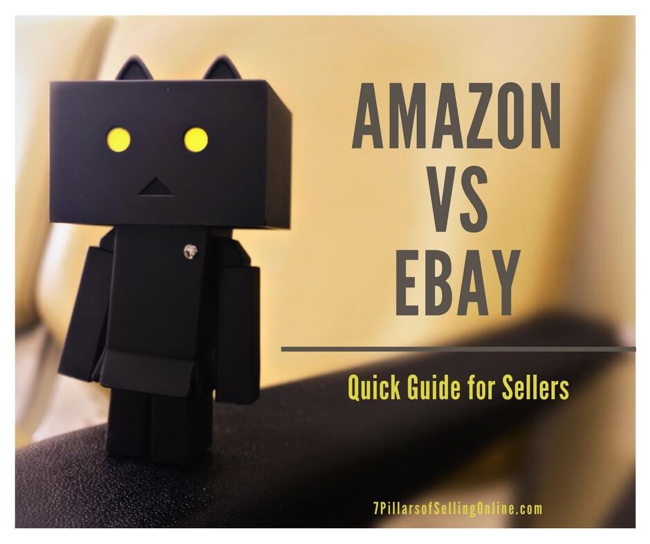Amazon vs Ebay for Sellers