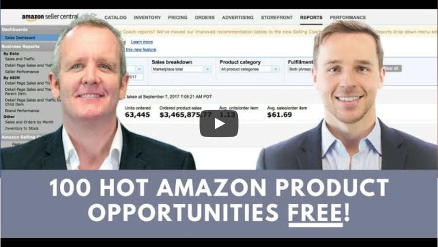 Access the Amazing Amazon Selling Video
