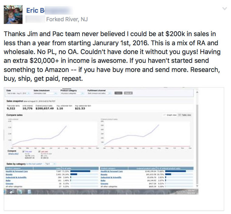 Making an income and living selling on Amazon