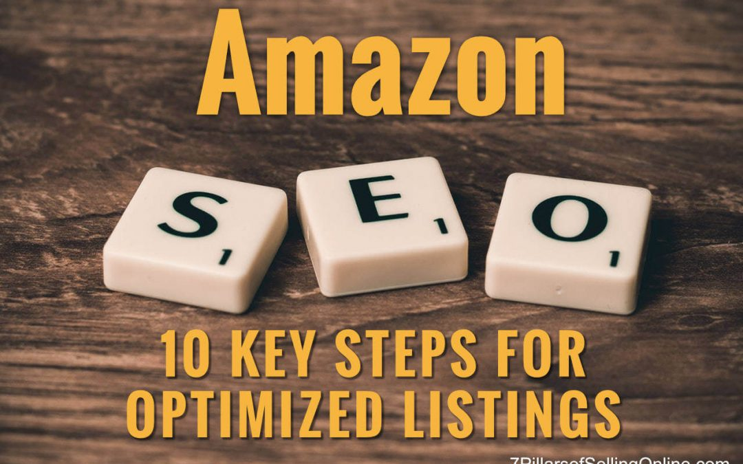 Optimize your Amazon Listing – 10 Powerful Search & Keyword Strategies